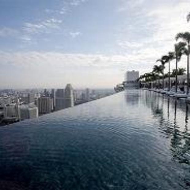 Het hoogste zwembad ter wereld